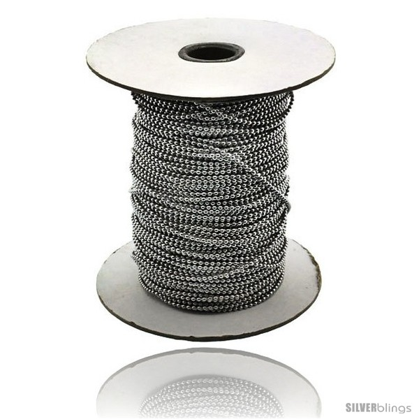 https://www.silverblings.com/14979-thickbox_default/stainless-steel-bead-ball-chain-2-mm-100-yard-spool.jpg