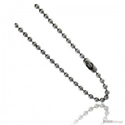 Stainless Steel Bead Ball Chain 3 mm thick available Necklaces Bracelets & Anklets