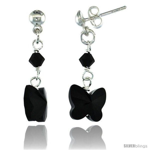 https://www.silverblings.com/15053-thickbox_default/sterling-silver-butterfly-black-swarovski-crystals-dangle-earrings-1-1-8-in-29-mm-tall.jpg