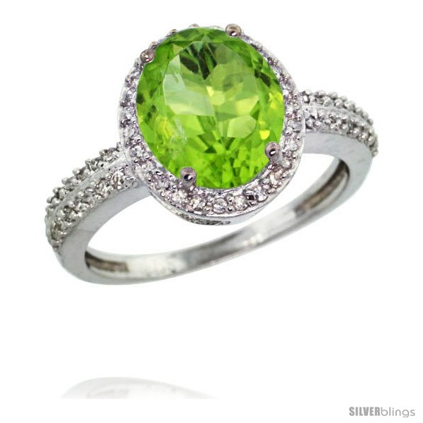 https://www.silverblings.com/15147-thickbox_default/14k-white-gold-diamond-peridot-ring-oval-stone-10x8-mm-2-4-ct-1-2-in-wide.jpg