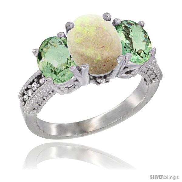 https://www.silverblings.com/15170-thickbox_default/14k-white-gold-ladies-3-stone-oval-natural-opal-ring-green-amethyst-sides-diamond-accent.jpg