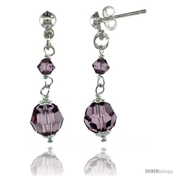 https://www.silverblings.com/15203-thickbox_default/sterling-silver-amethyst-swarovski-crystals-drop-earrings-1-1-4-in-32-mm-tall.jpg