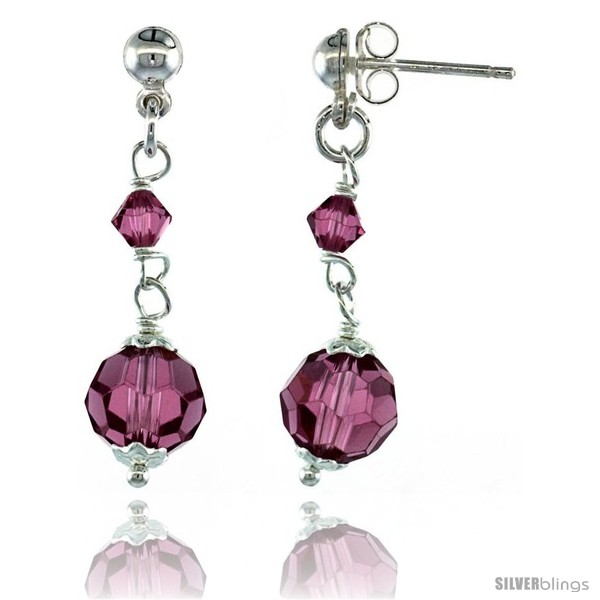 https://www.silverblings.com/15205-thickbox_default/sterling-silver-pink-sapphire-swarovski-crystals-drop-earrings-1-1-4-in-32-mm-tall.jpg