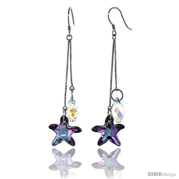https://www.silverblings.com/15263-thickbox_default/sterling-silver-dangle-earrings-w-purple-swarovski-crystal-starfish-2-3-4-in-70-mm-tall-rhodium-finish.jpg