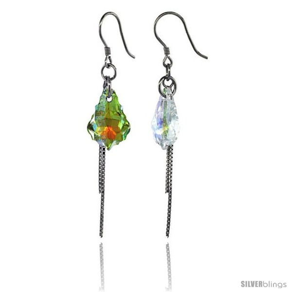 https://www.silverblings.com/15273-thickbox_default/sterling-silver-dangle-earrings-w-yellow-swarovski-crystal-2-1-4-in-58-mm-tall-rhodium-finish.jpg