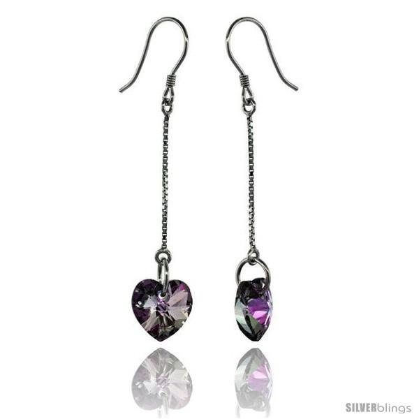https://www.silverblings.com/15275-thickbox_default/sterling-silver-dangle-earrings-w-purple-swarovski-crystal-heart-2-in-51-mm-tall-rhodium-finish.jpg