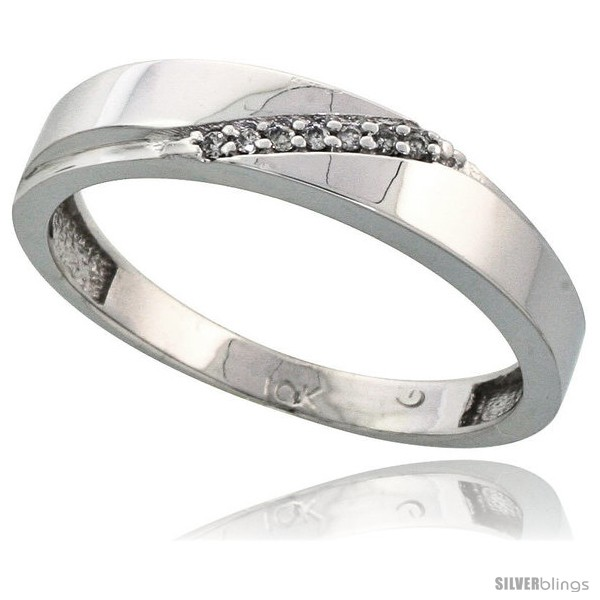 https://www.silverblings.com/15377-thickbox_default/10k-white-gold-mens-diamond-wedding-band-ring-0-04-cttw-brilliant-cut-3-16-in-wide-style-10w015mb.jpg