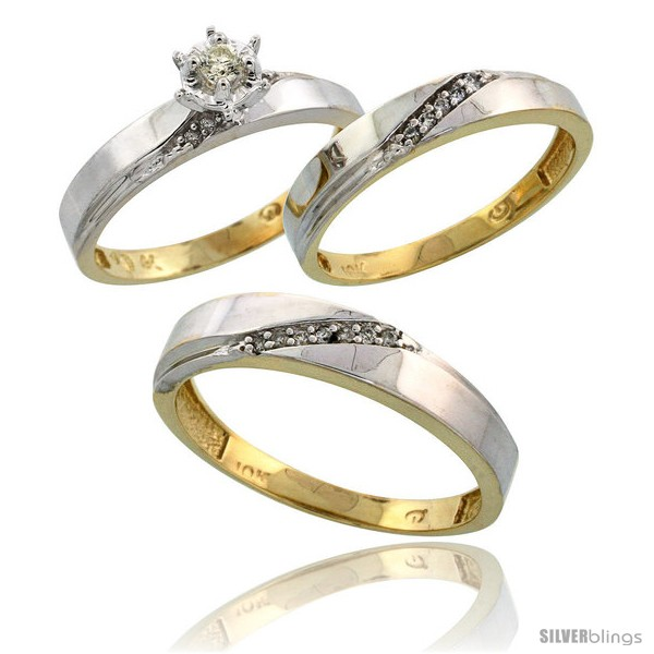 https://www.silverblings.com/15453-thickbox_default/10k-yellow-gold-diamond-trio-wedding-ring-set-his-4-5mm-hers-3-5mm-style-10y115w3.jpg