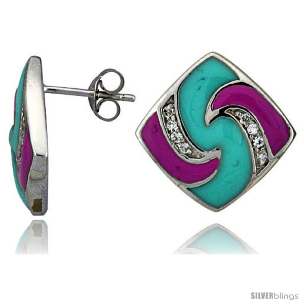 https://www.silverblings.com/15549-thickbox_default/sterling-silver-3-4-19-mm-tall-post-earrings-rhodium-plated-w-cz-stones-pink-blue-enamel-designs.jpg