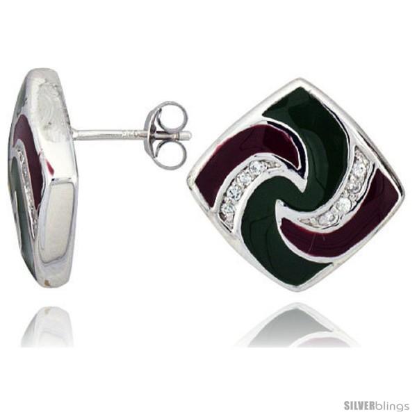 https://www.silverblings.com/15555-thickbox_default/sterling-silver-3-4-19-mm-tall-post-earrings-rhodium-plated-w-cz-stones-green-red-enamel-designs.jpg