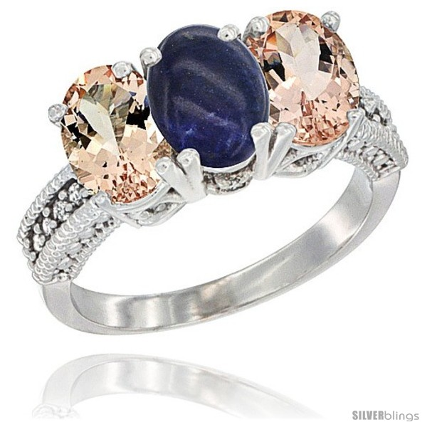 https://www.silverblings.com/1560-thickbox_default/10k-white-gold-natural-lapis-morganite-sides-ring-3-stone-oval-7x5-mm-diamond-accent.jpg