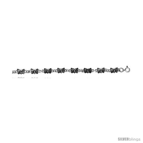 https://www.silverblings.com/15627-thickbox_default/sterling-silver-butterfly-charm-bracelet-3-16-in-wide.jpg