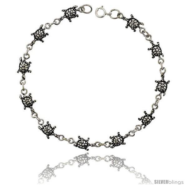 https://www.silverblings.com/15633-thickbox_default/sterling-silver-turtle-charm-bracelet-5-16-in-wide.jpg