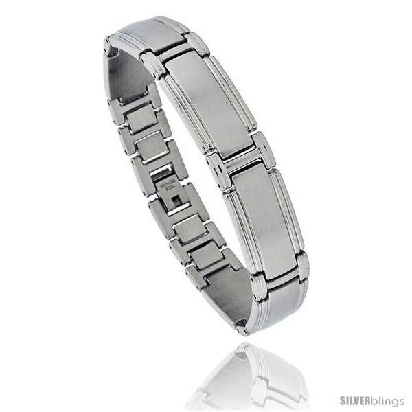 https://www.silverblings.com/1576-thickbox_default/solid-stainless-steel-link-bracelet-8-in-long-style-bss7.jpg