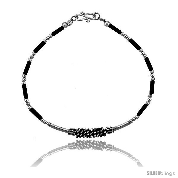 https://www.silverblings.com/15770-thickbox_default/sterling-silver-black-beaded-bali-bracelet-style-fb25.jpg