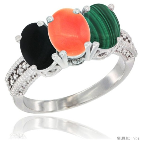 https://www.silverblings.com/15798-thickbox_default/10k-white-gold-natural-black-onyx-coral-malachite-ring-3-stone-oval-7x5-mm-diamond-accent.jpg