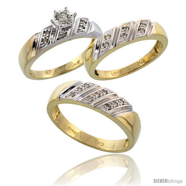 https://www.silverblings.com/15810-thickbox_default/10k-yellow-gold-diamond-trio-wedding-ring-set-his-6mm-hers-5mm-style-10y116w3.jpg