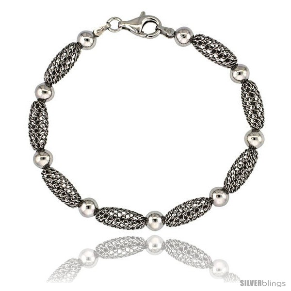 https://www.silverblings.com/15872-thickbox_default/sterling-silver-oval-filigree-bead-bracelet-white-gold-finish-7-in.jpg