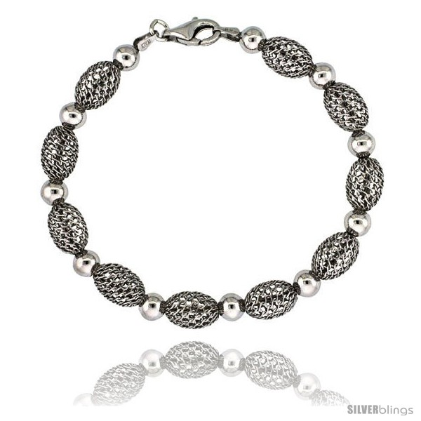 https://www.silverblings.com/15878-thickbox_default/sterling-silver-oval-filigree-bead-bracelet-white-gold-finish-7-in-style-fbb104h.jpg