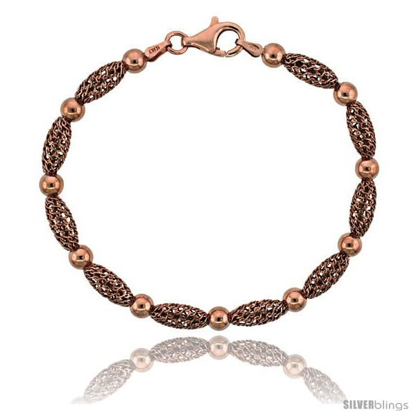 https://www.silverblings.com/15886-thickbox_default/sterling-silver-corrugated-filigree-bead-bracelet-rose-gold-finish-7-in-style-fbb105r.jpg