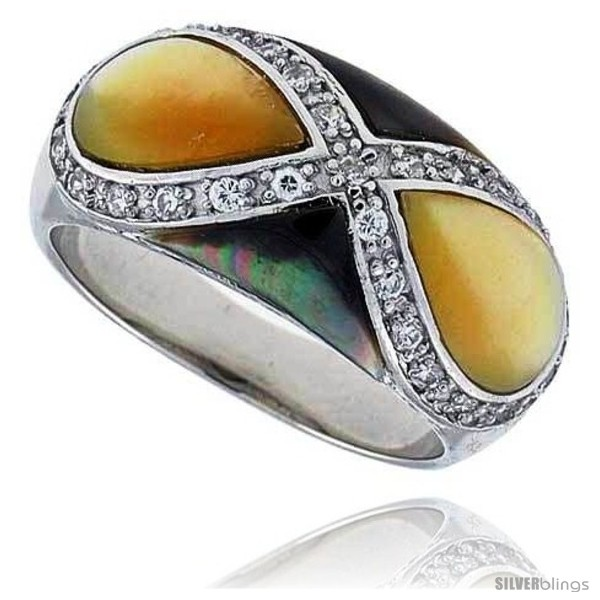 https://www.silverblings.com/15958-thickbox_default/yellow-black-mother-of-pearl-dome-band-in-solid-sterling-silver-accented-tiny-high-quality-czs-11-16-16-mm-wide.jpg