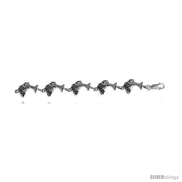 https://www.silverblings.com/16004-thickbox_default/sterling-silver-egyptian-queen-nefertiti-charm-bracelet-1-2-12-mm-.jpg