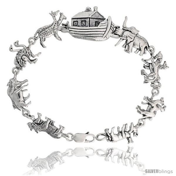 https://www.silverblings.com/16024-thickbox_default/sterling-silver-noahs-ark-bracelet-11-16-17-mm-wide.jpg