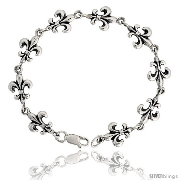 https://www.silverblings.com/16030-thickbox_default/sterling-silver-fleur-de-lis-bracelet-7-16-11-mm-wide.jpg