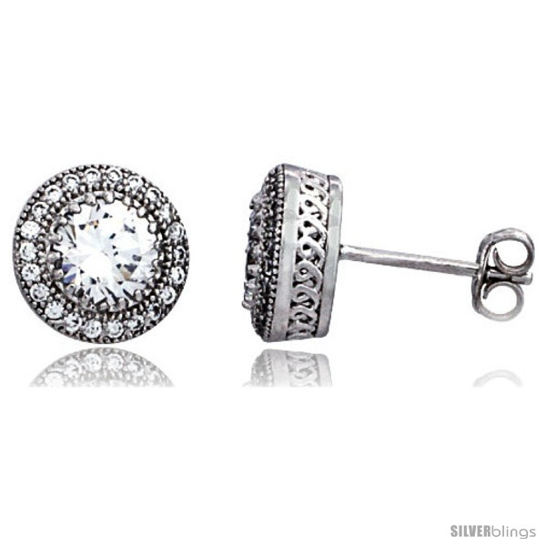 https://www.silverblings.com/16044-thickbox_default/sterling-silver-cubic-zirconia-micro-pave-halo-stud-earrings-1-ct-center-3-8-in.jpg