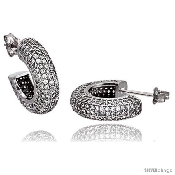 https://www.silverblings.com/16058-thickbox_default/sterling-silver-cubic-zirconia-micro-pave-post-hoop-earrings-1-2-in.jpg