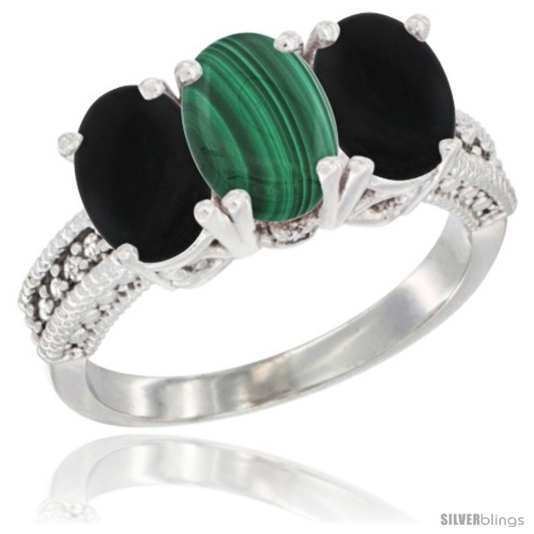 https://www.silverblings.com/16177-thickbox_default/10k-white-gold-natural-malachite-black-onyx-ring-3-stone-oval-7x5-mm-diamond-accent.jpg