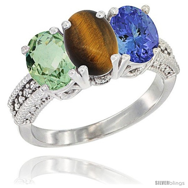 https://www.silverblings.com/16195-thickbox_default/14k-white-gold-natural-green-amethyst-tiger-eye-tanzanite-ring-3-stone-7x5-mm-oval-diamond-accent.jpg