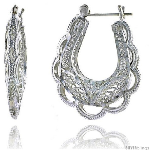 https://www.silverblings.com/16322-thickbox_default/sterling-silver-1-5-16-34-mm-tall-puffed-u-shaped-filigree-earrings-w-snap-down-lock.jpg