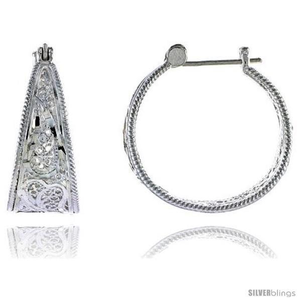 https://www.silverblings.com/16334-thickbox_default/sterling-silver-1-1-16-27-mm-tall-filigree-hoop-earrings-w-snap-down-lock.jpg