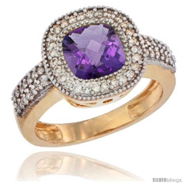 https://www.silverblings.com/16358-thickbox_default/14k-yellow-gold-ladies-natural-amethyst-ring-cushion-cut-3-5-ct-7x7-stone-diamond-accent.jpg