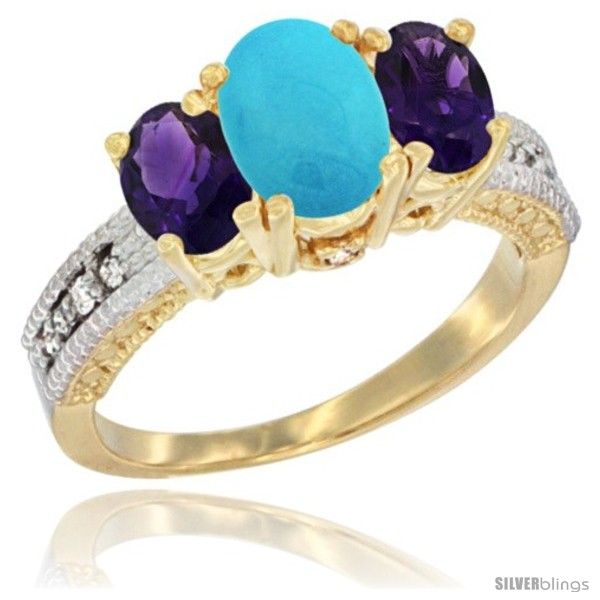 https://www.silverblings.com/16366-thickbox_default/14k-yellow-gold-ladies-oval-natural-turquoise-3-stone-ring-amethyst-sides-diamond-accent.jpg