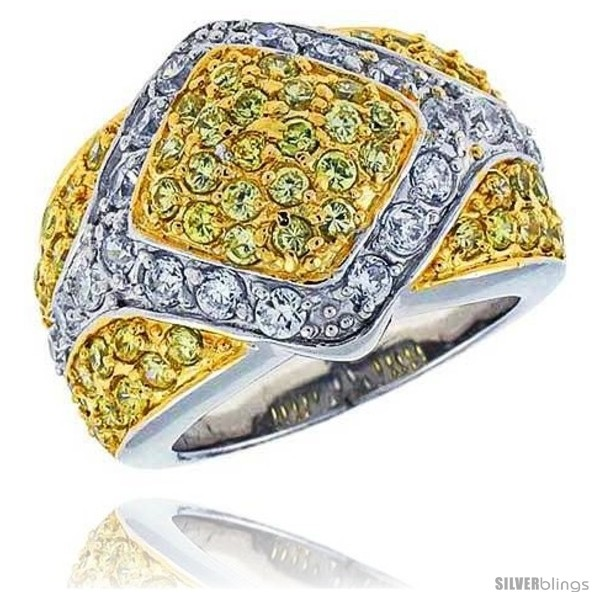 https://www.silverblings.com/16391-thickbox_default/sterling-silver-rhodium-plated-diamond-shaped-dome-band-w-2mm-high-quality-white-citrine-czs-11-16-17-mm-wide.jpg