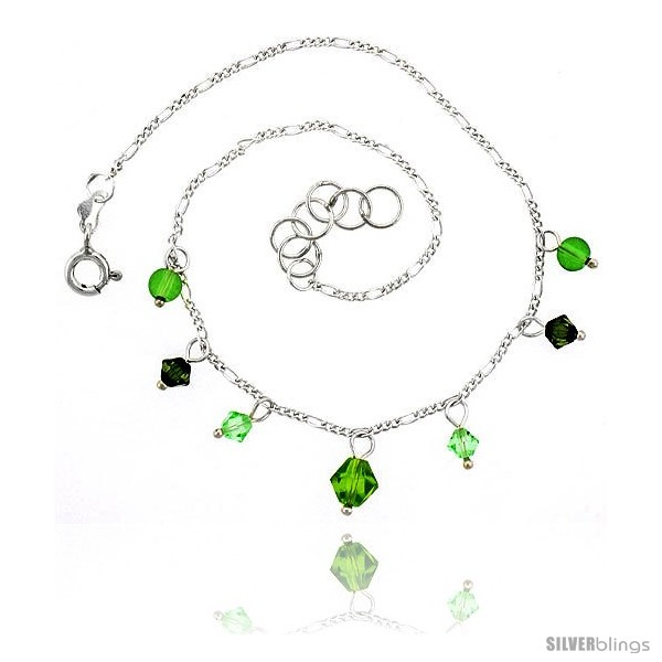 https://www.silverblings.com/16401-thickbox_default/sterling-silver-anklet-natural-stone-peridot-beads-green-bicone-crystals-adjustable-9-10-in.jpg