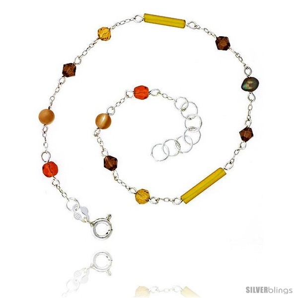 https://www.silverblings.com/16403-thickbox_default/sterling-silver-anklet-natural-gold-pearl-citrine-carnelian-jade-beads-bicone-crystals-adjustable-9-10-in.jpg