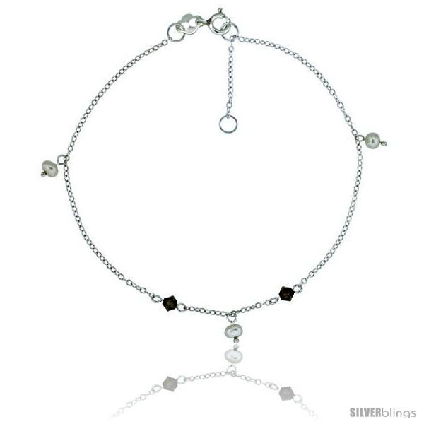https://www.silverblings.com/16431-thickbox_default/sterling-silver-anklet-natural-stone-rose-quartz-garnet-amethyst-snowflake-obsidian-beads-adjustable-9-10-in.jpg