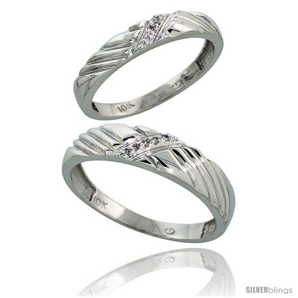 https://www.silverblings.com/16479-thickbox_default/10k-white-gold-diamond-wedding-rings-2-piece-set-for-him-5-mm-her-3-5-mm-0-05-cttw-brilliant-cut.jpg
