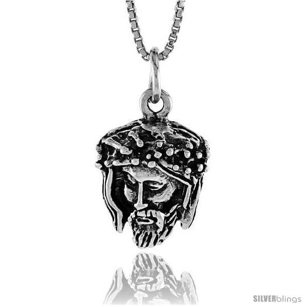 https://www.silverblings.com/16674-thickbox_default/sterling-silver-jesus-pendant-3-4-in-style-4p174.jpg