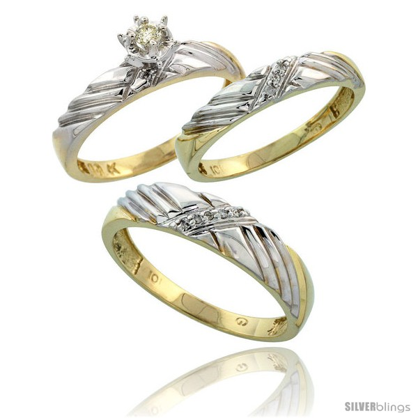 https://www.silverblings.com/16730-thickbox_default/10k-yellow-gold-diamond-trio-wedding-ring-set-his-5mm-hers-3-5mm-style-10y118w3.jpg