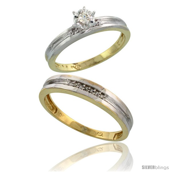 https://www.silverblings.com/16740-thickbox_default/10k-yellow-gold-2-piece-diamond-wedding-engagement-ring-set-for-him-her-3-5mm-4mm-wide-style-10y119em.jpg