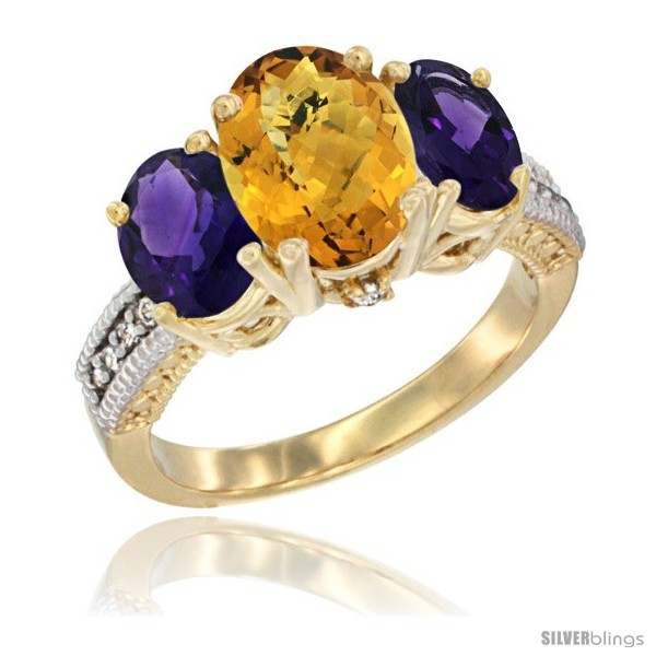 https://www.silverblings.com/16829-thickbox_default/14k-yellow-gold-ladies-3-stone-oval-natural-whisky-quartz-ring-amethyst-sides-diamond-accent.jpg