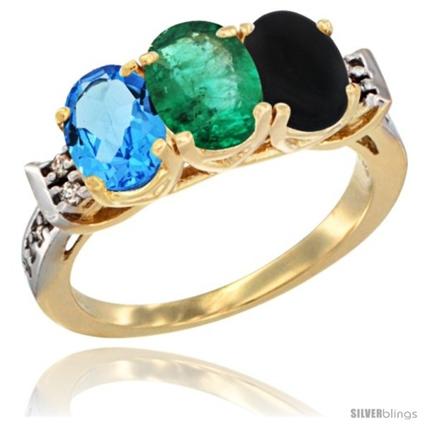 https://www.silverblings.com/16889-thickbox_default/10k-yellow-gold-natural-swiss-blue-topaz-emerald-black-onyx-ring-3-stone-oval-7x5-mm-diamond-accent.jpg