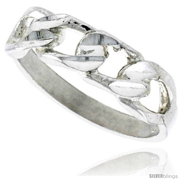 https://www.silverblings.com/16901-thickbox_default/sterling-silver-tiny-curb-link-chain-ring-polished-finish-3-16-in-wide.jpg