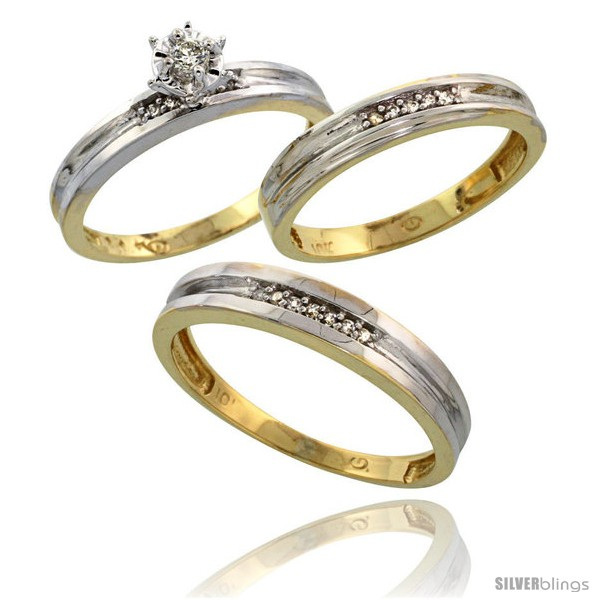 https://www.silverblings.com/17036-thickbox_default/10k-yellow-gold-diamond-trio-wedding-ring-set-his-4mm-hers-3-5mm-style-10y119w3.jpg