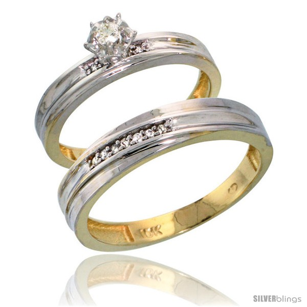 https://www.silverblings.com/17046-thickbox_default/10k-yellow-gold-2-piece-diamond-wedding-engagement-ring-set-for-him-her-3-5mm-4mm-wide-style-10y120em.jpg