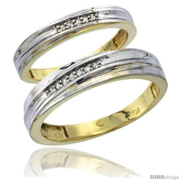 https://www.silverblings.com/17066-thickbox_default/10k-yellow-gold-diamond-2-piece-wedding-ring-set-his-5mm-hers-3-5mm-style-10y120w2.jpg